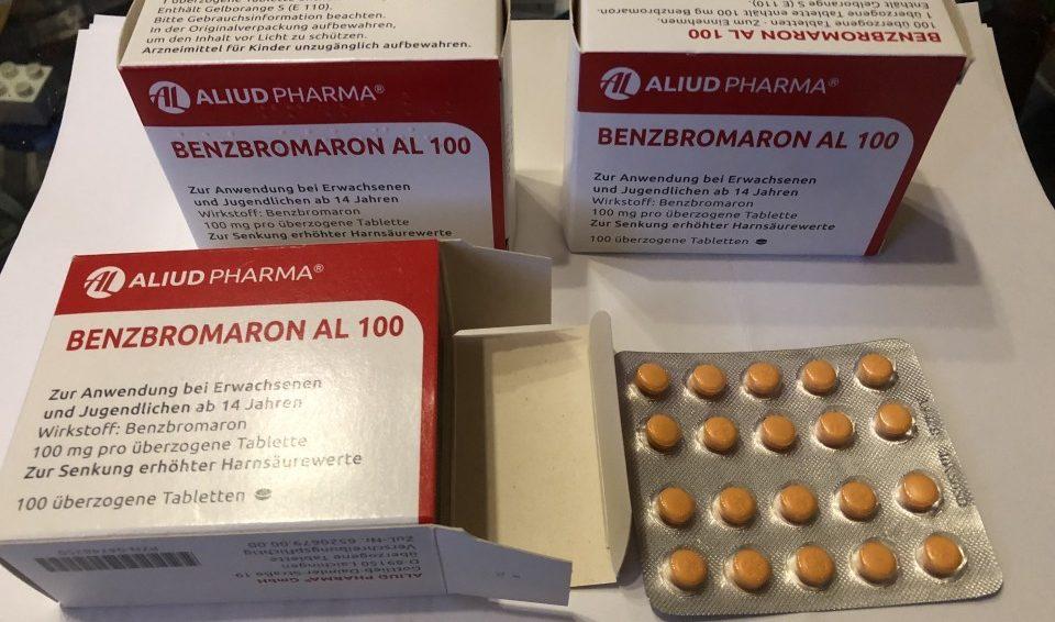 Бензбромарон или Алопуринол